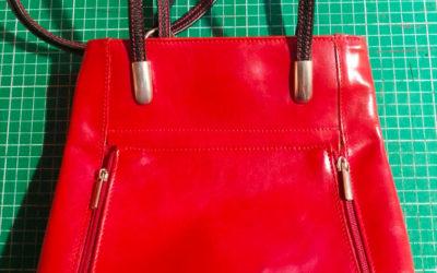 Fabrication d'une nouvelle bandoulière pour un sac en cuir
