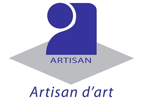 logo artisan d'art, appellation certifiant la formation d'un professionnel
