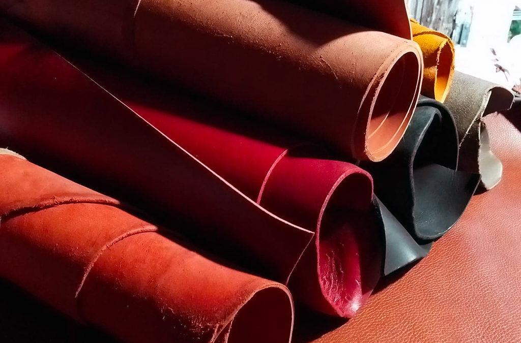 rouleaux de cuir tannage végétal pour ceinture Po&ZYa